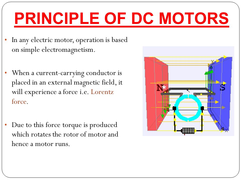 dc motors t ppt video online download