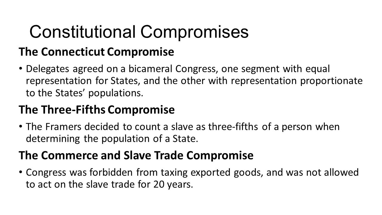 the connecticut compromise of 1787