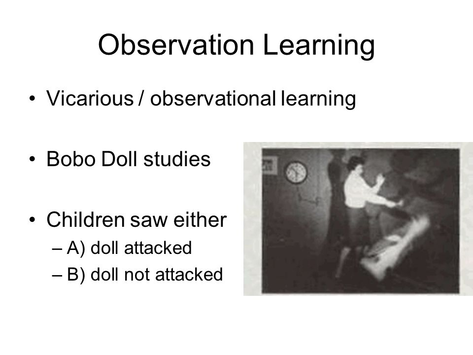 why is observational learning important Helping children discover positive behaviors through observational learning  model behavior in early childhood  you are your child's first and most important.