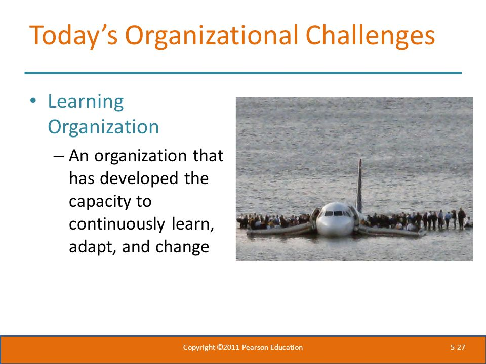 Today's Organizational Challenges