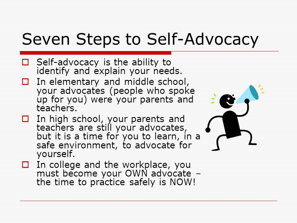 Worksheet Self Advocacy   Worksheets   Elementary Students advocating for ourselves ppt video online download seven steps to self advocacy