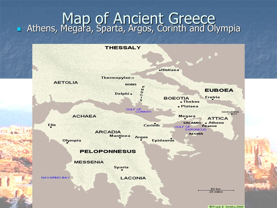 Ancient greece ppt video online download 3 map of ancient greece athens megara sparta argos corinth and olympia gumiabroncs Choice Image