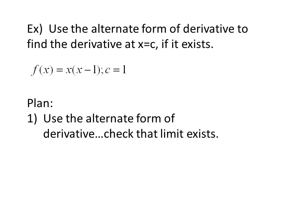 2 1 The Derivative And The Tangent Line Problem Ppt Video Online Download
