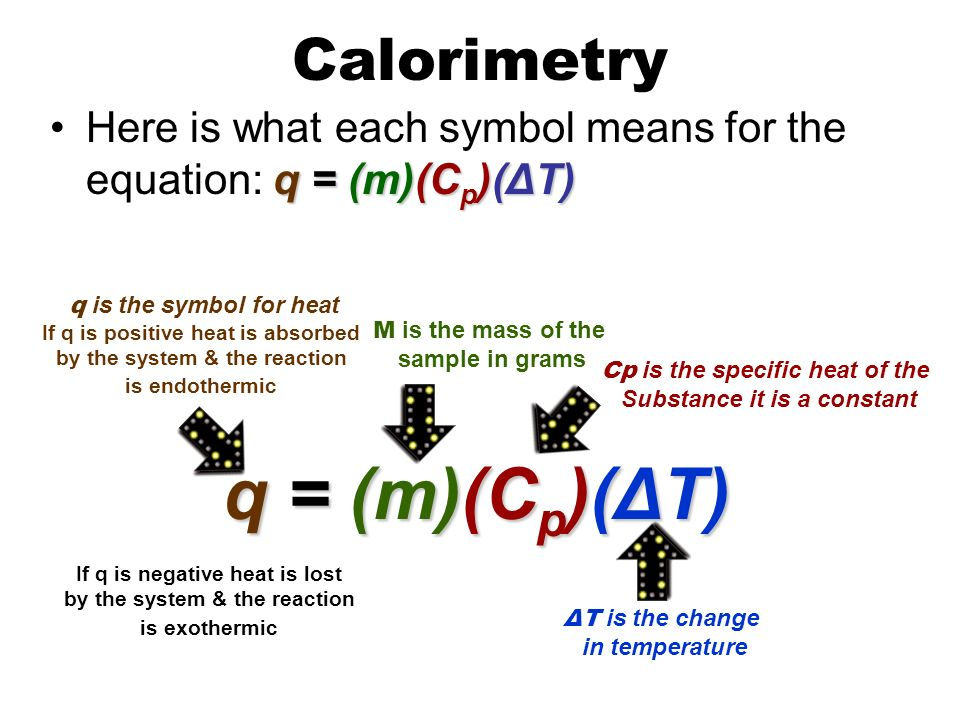 Calorimeters and Calorimetry