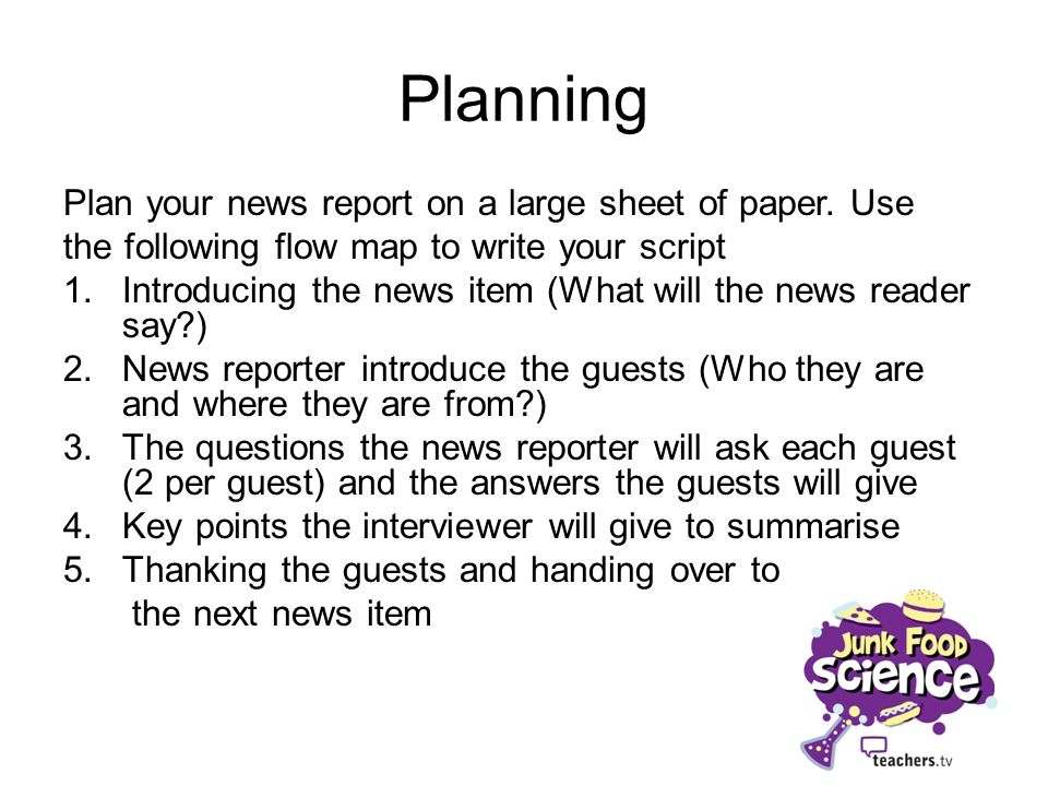 Teacher Resources: Activity - Writing headlines (20 mins)