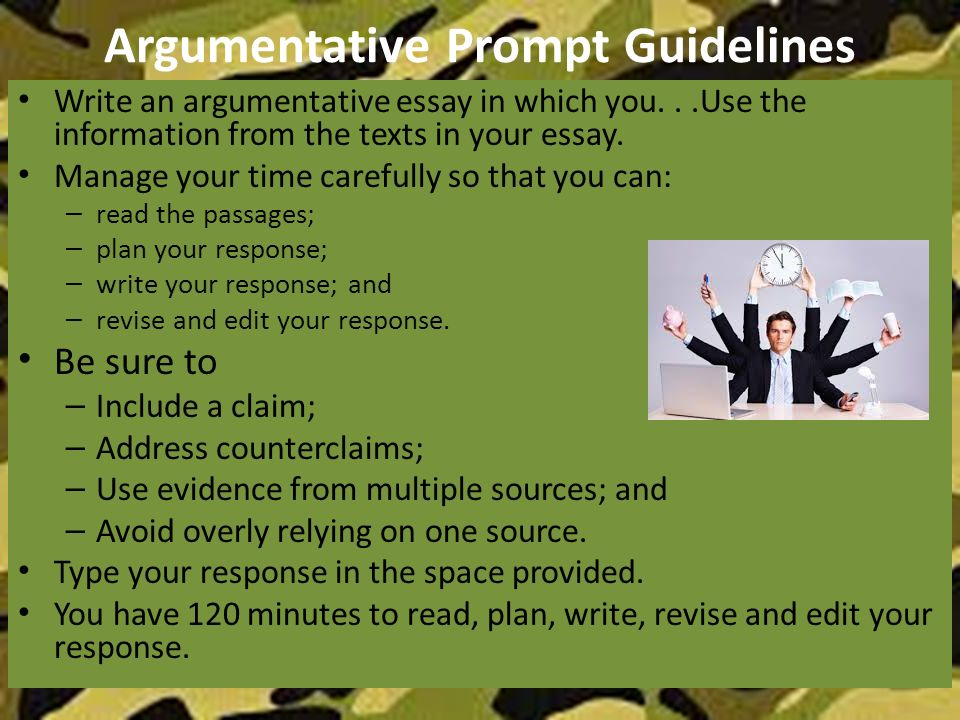 Argumentative Essay Subjects