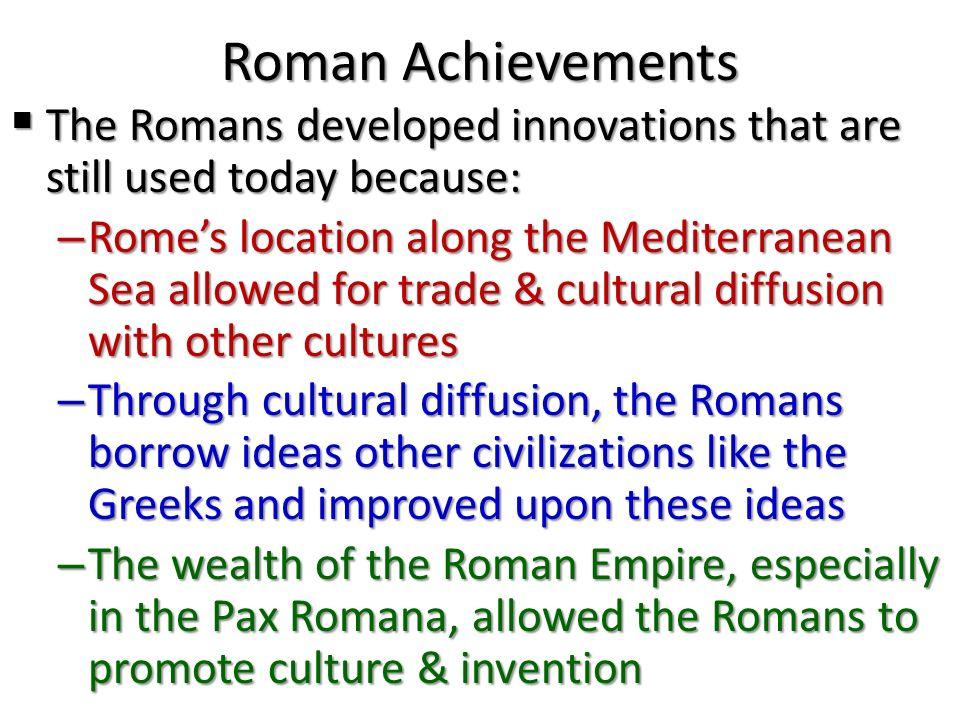 An analysis and a comparison of greek and roman civilization and culture