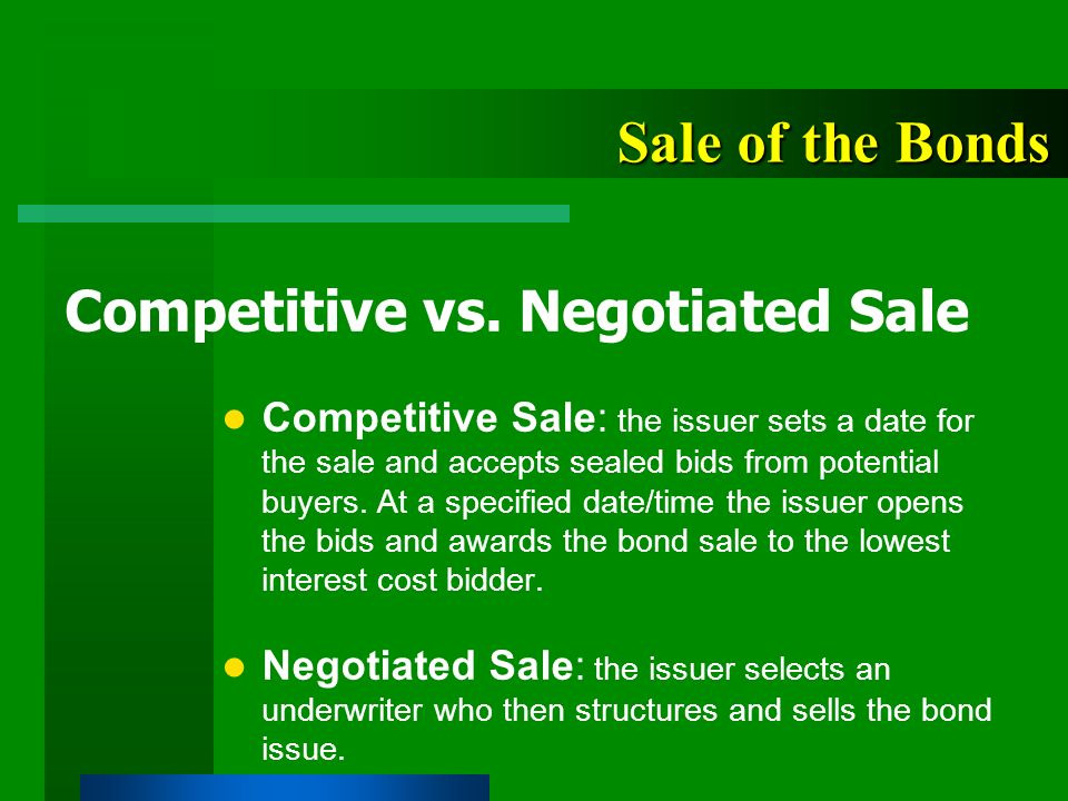 Competitive Bidding and Sealed Proposals Essay Sample