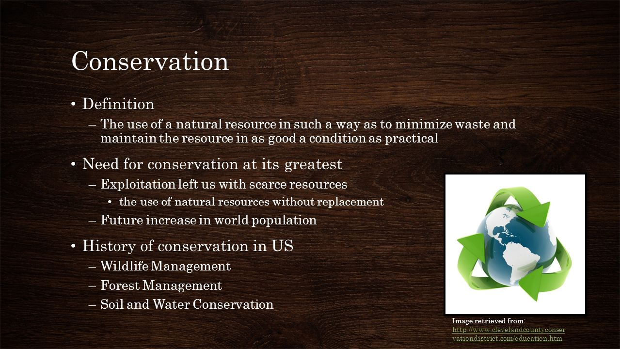 United states conservation ppt download for Soil resources definition
