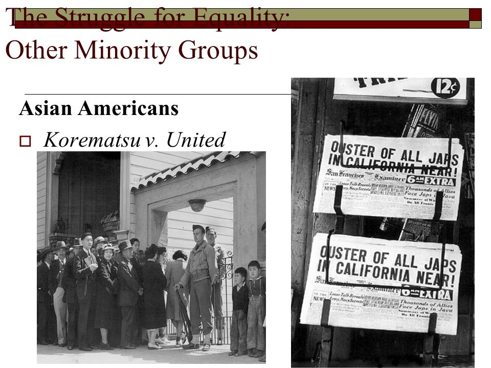 the struggle of chinese immigrants Mexican immigrants, the largest group and the focus of most current immigration policy debates, have assimilated slowly, but their experience is not representative of the entire immigrant population collective assimilation rates are lower than they were a century ago, although no lower than they have been in recent decades.