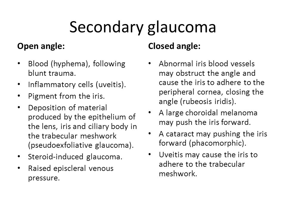 steroid induced glaucoma icd 10