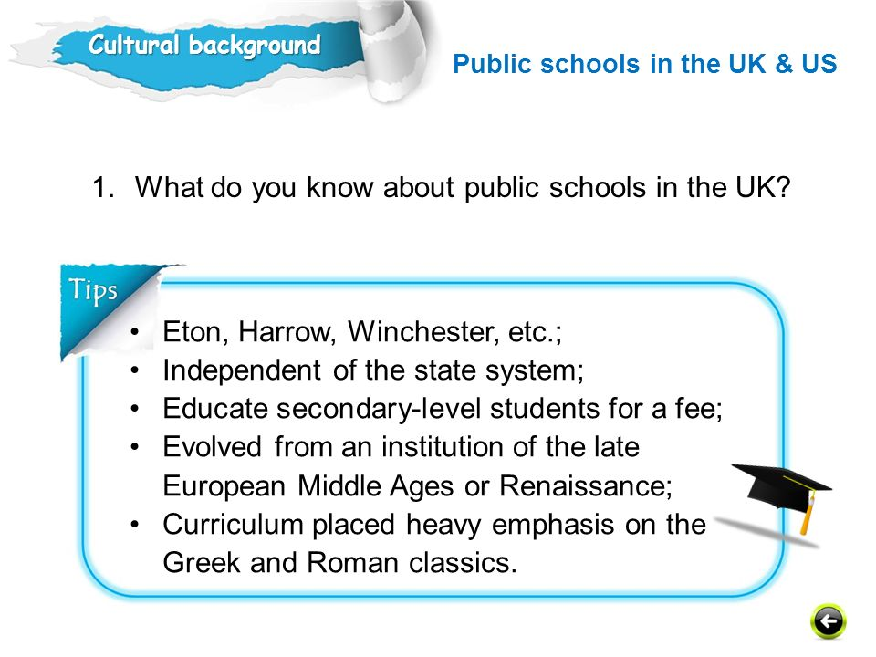 What do you know about public schools in the UK