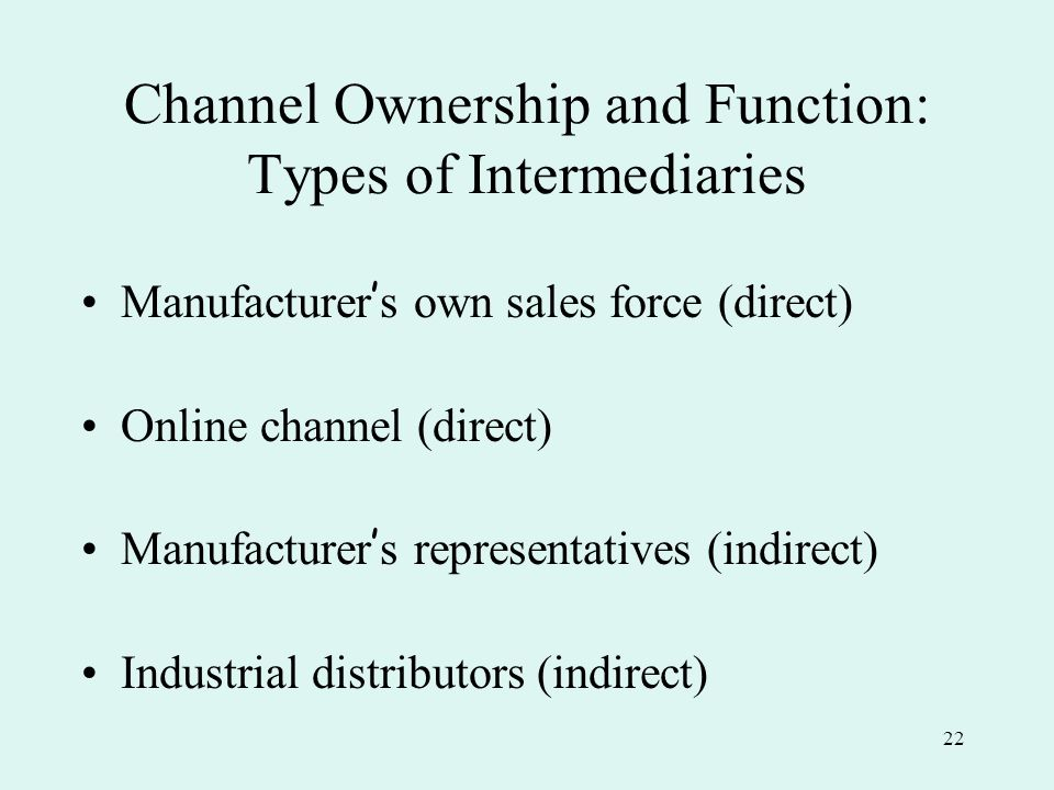 functions and types of channels of The importance of distribution channels to view this video please enable javascript and all these channel functions have also three things in common.