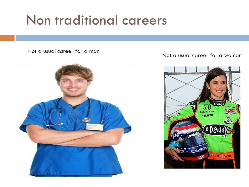 non traditional career