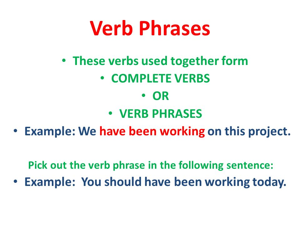 Subjects And Verbs Core Of The Sentence Ppt Video Online Download