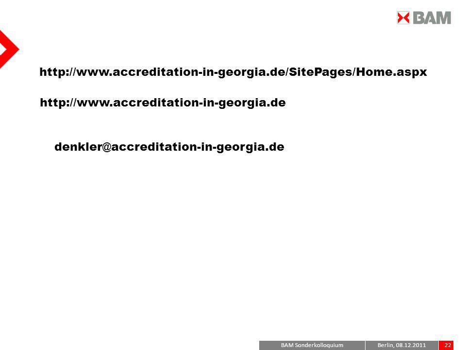 http://www.accreditation-in-georgia.de/SitePages/Home.aspx http://www.accreditation-in-georgia.de. denkler@accreditation-in-georgia.de.