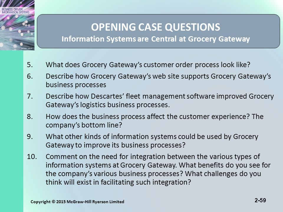 grocery gateway customer delivery operations Bility of their electronic business technology is used to host a web site that supports online merchandising, single item picking, home delivery operations, and.