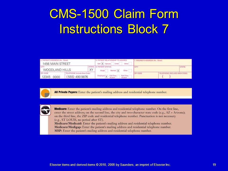 The Paper Claim: CMS-1500 (08-05) - ppt download