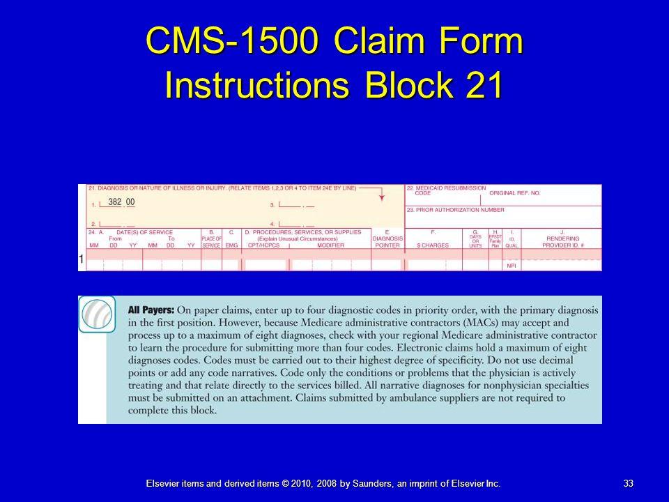 The Paper Claim: CMS-1500 (08-05)
