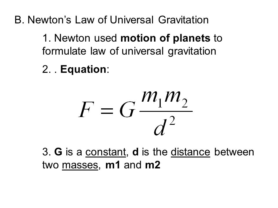 The First Two Laws of Motion ppt download – Law of Universal Gravitation Worksheet