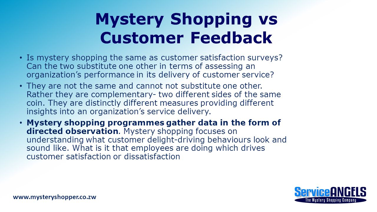 customer service mystery shopping Algim undertakes a mystery shop exercise annually the exercise involves multiple phone calls made to councils between the hours of 8am – 5pm, on week days (ie.