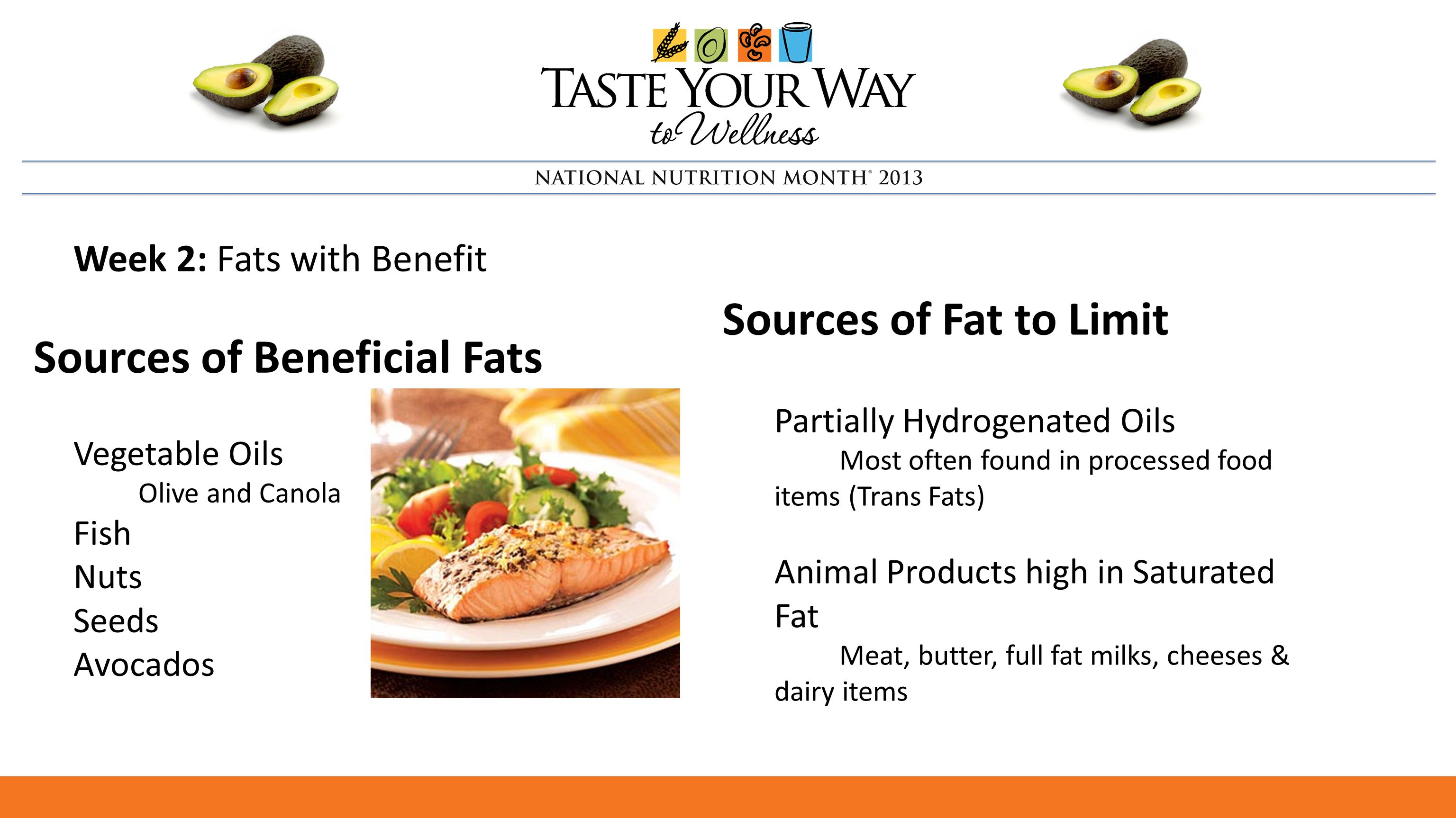 Plating up a healthier you ppt download for Fish oils are a good dietary source of