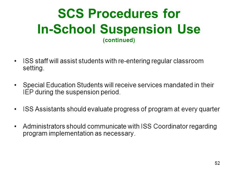 White Station High School Discipline Plan ppt download – In School Suspension Worksheets