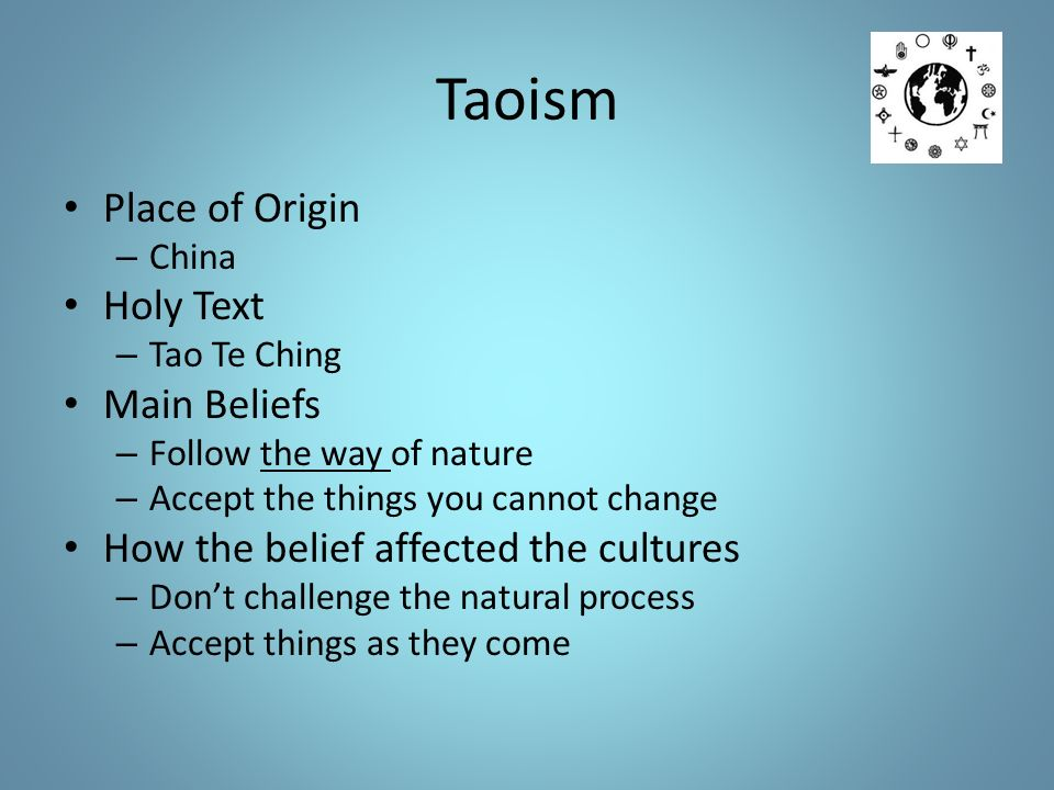 the origin history and beliefs of taoism in china Taoism (also known as daoism) is a chinese philosophy attributed to  whether  the origin of the book and the belief system originated with a.