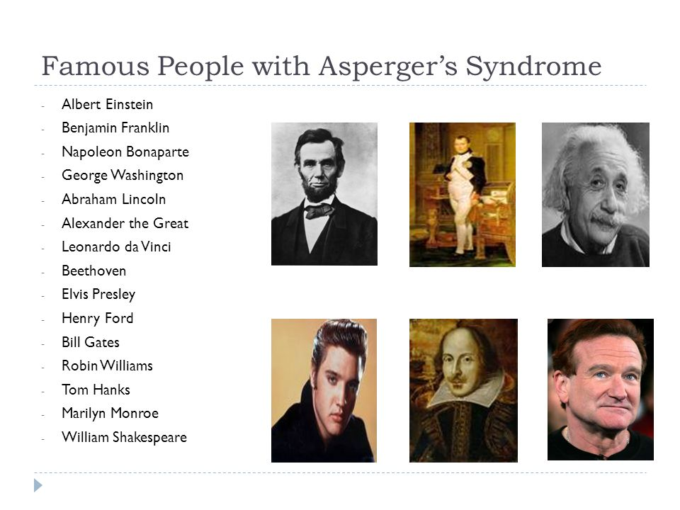 individuals with asperger syndrome The online asperger syndrome information and support  wrong planet is the web community designed for individuals with asperger's syndrome, autism,.