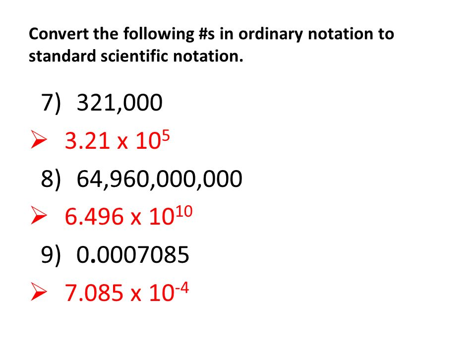 Convert Scientific Notation To Standard Form Dolapgnetband