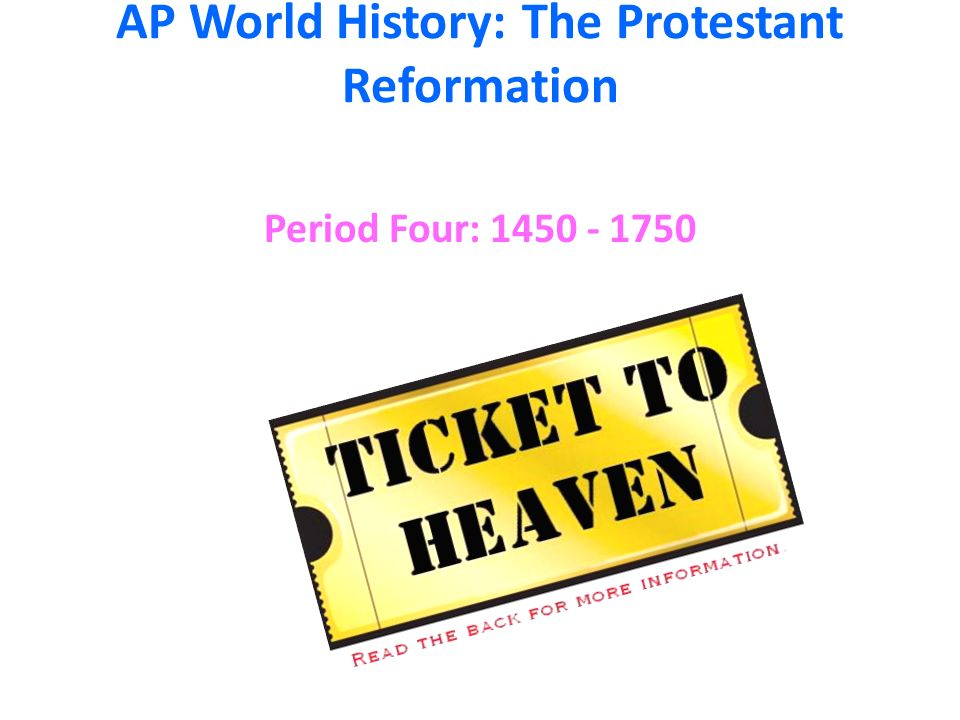 world history reformation Mr wolford's world history: home geography chapter 1 chapter 13 (renaissance and reformation) (world war i.