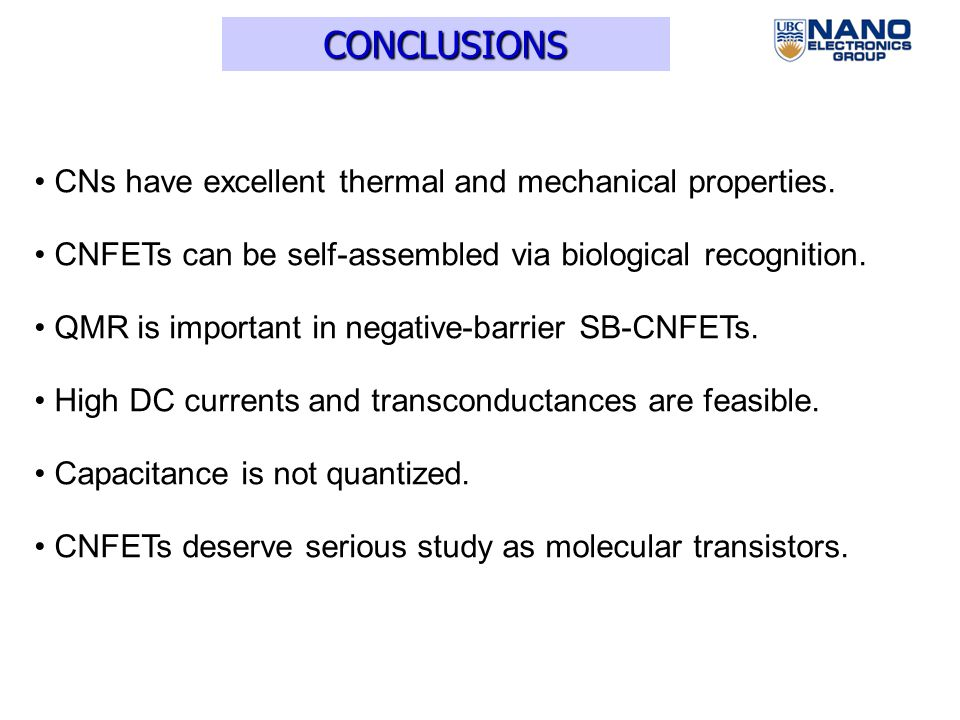 Performance Predictions for Carbon Nanotube Field-Effect ...