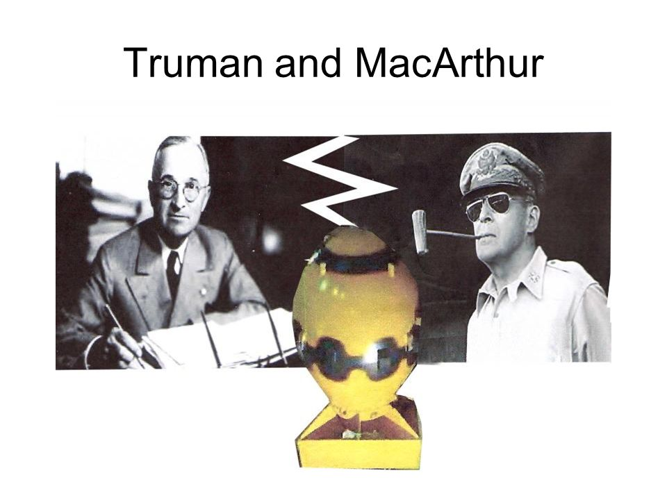 truman and macarthur relationship