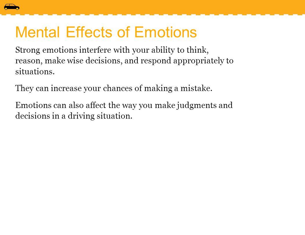 the influence of emotions on decision making The influence of emotions on decision-making processes in  (l' influence des emotions sur les processus de prise de décision dans les.