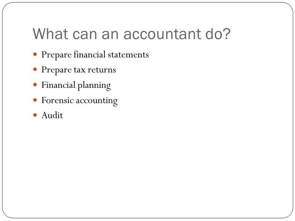 how to prepare tax information for accountant