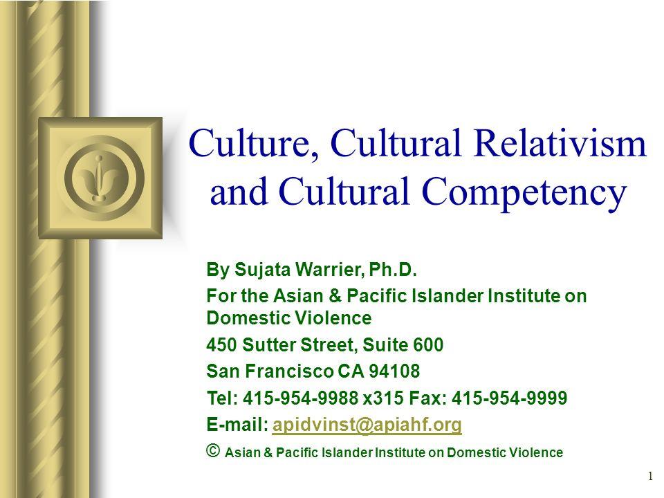 Culture Cultural Relativism And Cultural Competency Ppt Video