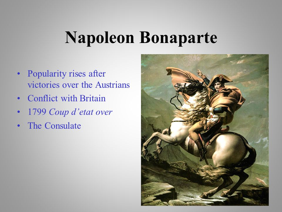 a biography of napoleon bonaparte and his achievements for france Napoleon bonaparte biography napoleon bonaparte, (15 august 1769–5 may 1821) later known as emperor napoleon i, was a french military and political leader who is considered one of the most influential figures in european history.