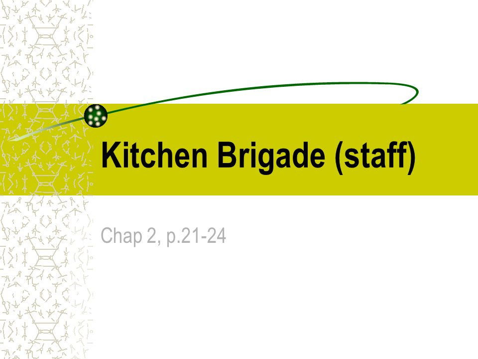 kitchen brigade hierarchy Kitchen xcyyxh