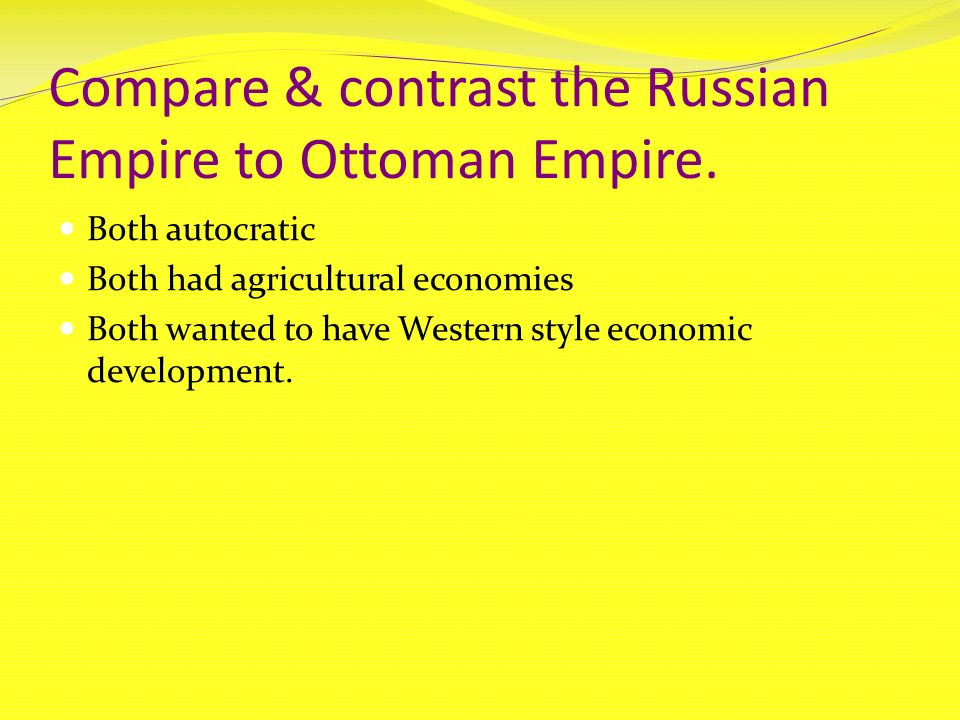 compare and contrast muslim empires What are the differences of the mughal and ottoman empire of the muslim empires of the is to compare and contrast the differences.