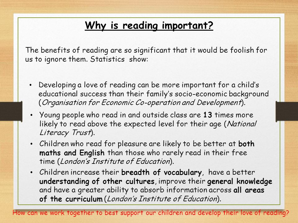 Reading, Writing, and Understanding