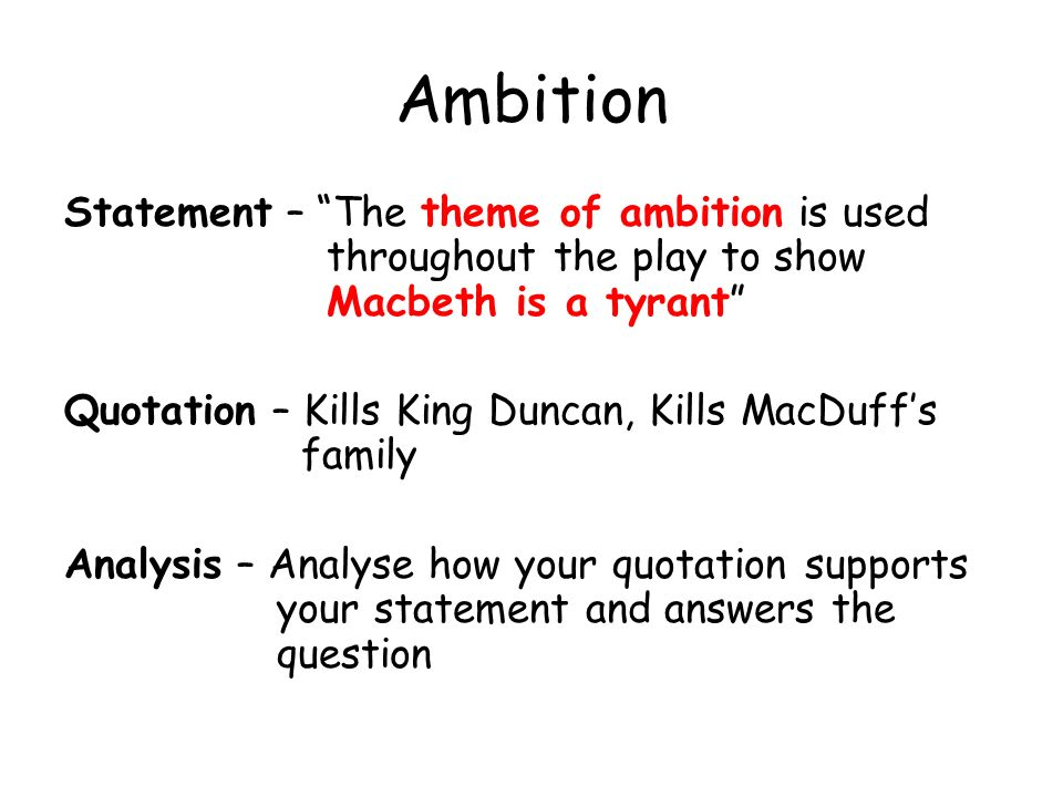 thematic analysis macbeth A summary of themes in william shakespeare's macbeth learn exactly what happened in this chapter, scene, or section of macbeth and what it means perfect for acing essays, tests, and.