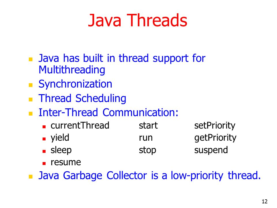 multithreaded programming using java threads ppt download