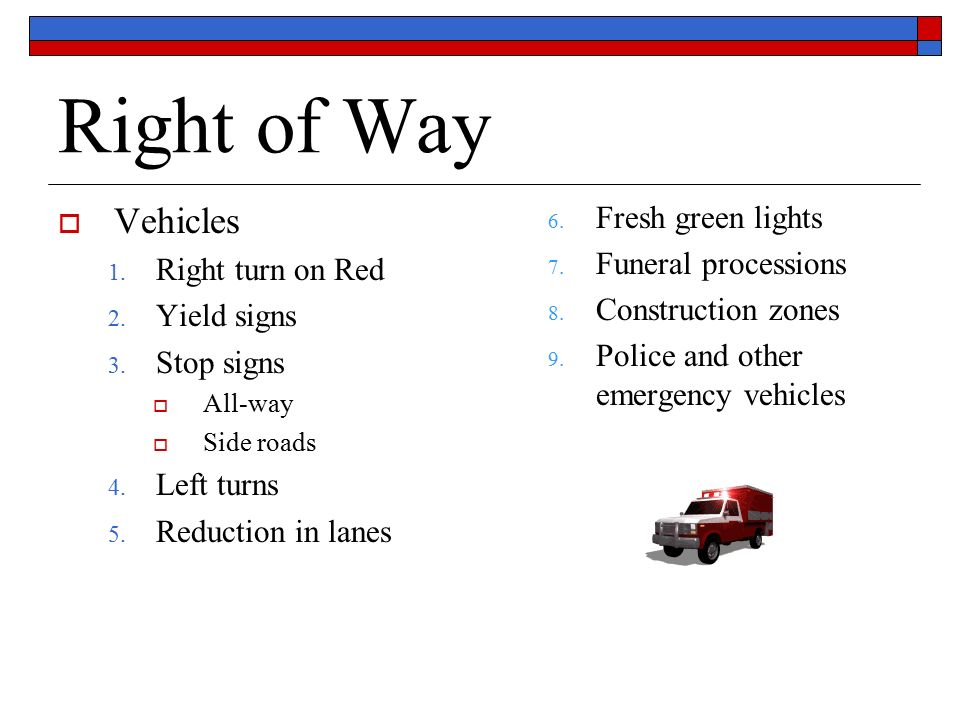 RULES OF THE ROAD CHAP...