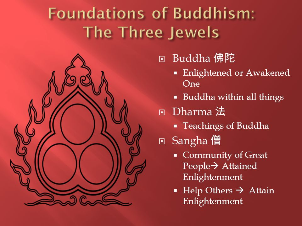Foundations of Buddhism: The Three Jewels