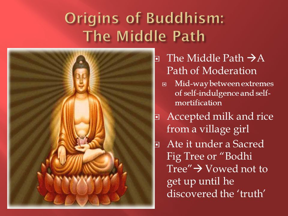 Origins of Buddhism: The Middle Path