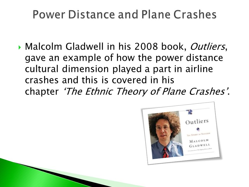 the ethnic theory of plane crashes Malcolm gladwell on plane crashes report profane or abusive content this  video file cannot be played(error code: 102630) your browser.