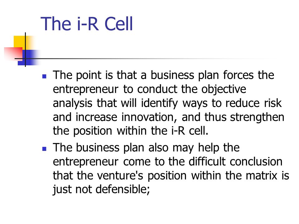 The i-R Cell