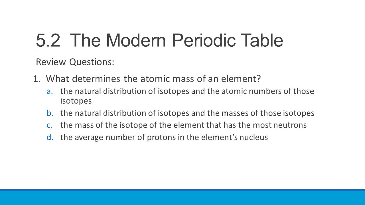 52 the modern periodic table ppt video online download 52 the modern periodic table gamestrikefo Choice Image