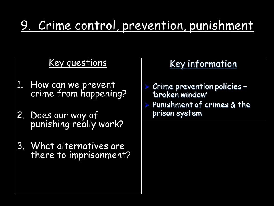 the effectiveness of crime prevention strategies Crime prevention through environmental design (cpted)  the more successful crime prevention strategies are  crime prevention through environmental design.