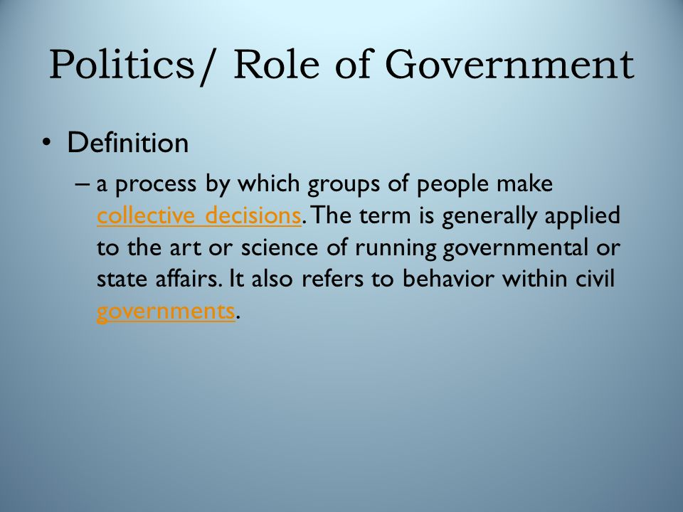 politics a process by which distribution Vestigate the extent to which distribution and redistribution are driven either by   tial outcomes of the political process for citizens' living conditions, it is.
